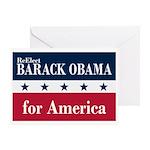 Barack Obama for America Greeting Card
