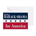 Barack Obama for America Greeting Cards (Pk of 10)
