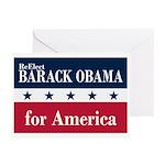 Barack Obama for America Greeting Cards (Pk of 20)