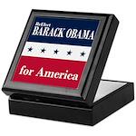 Barack Obama for America Keepsake Box