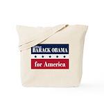 Barack Obama for America Tote Bag