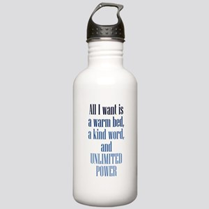 Unlimited Power Stainless Water Bottle 1.0L