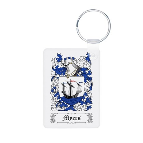 Myers Aluminum Photo Keychain