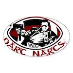 Darc Narcs Sticker (Oval)