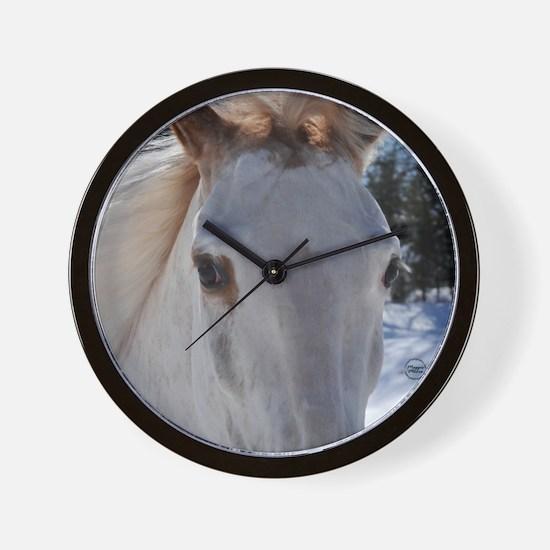 Walking Horse Eyes Wall Clock