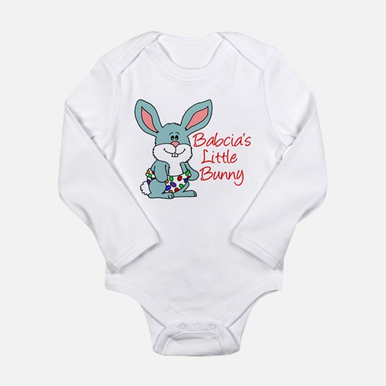 Babcia's Little Bunny Long Sleeve Infant Bodysuit