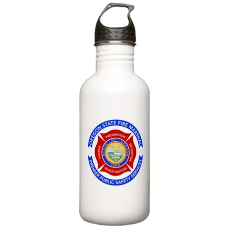 Oregon State Fire Marshal Stainless Water Bottle 1