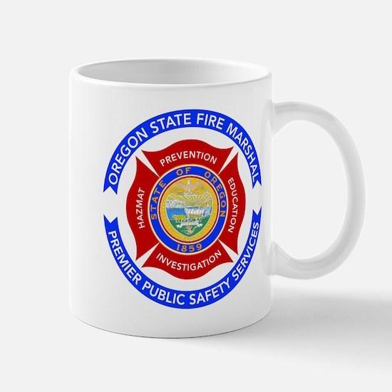 Oregon State Fire Marshal Mug