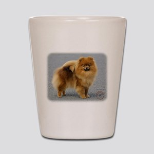 Pomeranian 9R042D-22 Shot Glass