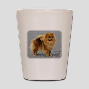 Pomeranian 9R042D-22 Shot Glass