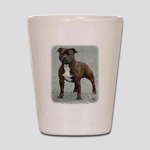 Staffordshire Bull Terrier 9F23-12 Shot Glass