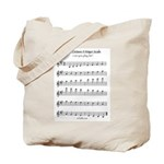 A Major Scale Tote Bag