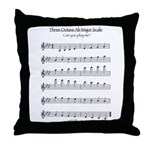 Ab Major Scale Throw Pillow