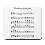 A Major Scale Mousepad
