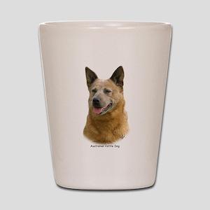 Aust Cattle Dog 9K009D-19 Shot Glass