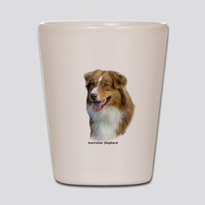 Australian Shepherd 9K4D-16 Shot Glass
