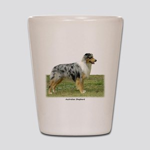 Australian Shepherd 9K7D-20 Shot Glass