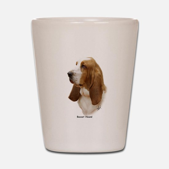 Basset Hound 9J055D-15 Shot Glass