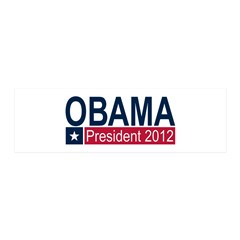 Obama President 2012 42x14 Wall Peel