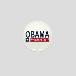 Obama President 2012 Mini Button