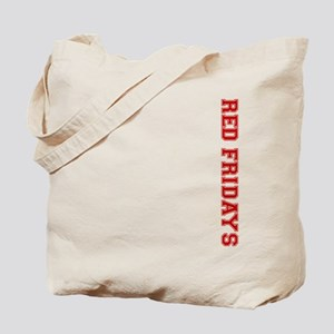Red Fridays Side Tote Bag