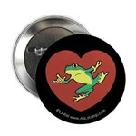 ILY Frog in Heart Button