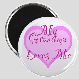 My Grandma Loves Me Magnet