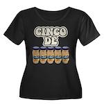 Cinco De Mayo Dark Version Women's Plus Size Scoop