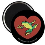 ILY Frog in Heart Magnet