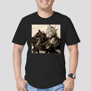 Civil War Cavalry Men's Fitted T-Shirt (dark)