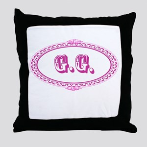 G.G. Throw Pillow