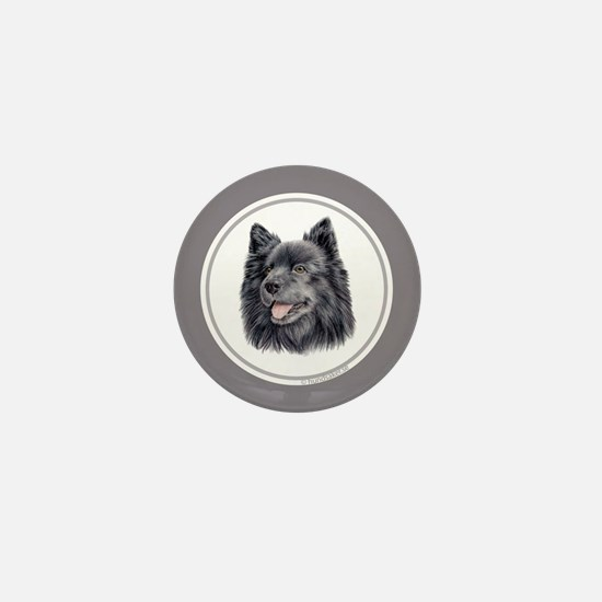 Swedish Lapphund Mini Button