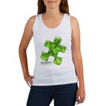 PuzzlesPuzzle (Green) Women's Tank Top