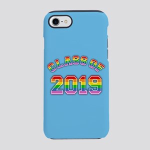 Class Of 2019 Rainbow iPhone 7 Tough Case