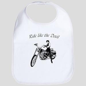 Ride Like The Devil Bib