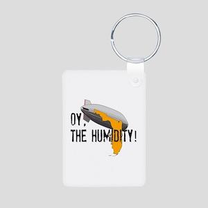 OY, The Humidity! Aluminum Photo Keychain