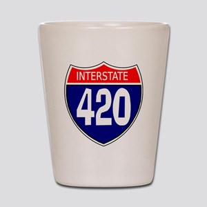 Interstate 420 Shot Glass