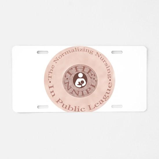 Unique Breastfeeding Aluminum License Plate