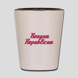 Reagan Republican (pink) Shot Glass