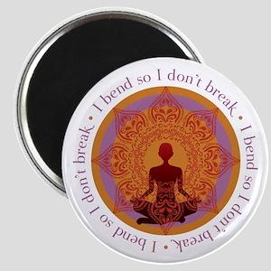 Bend Yoga Magnet