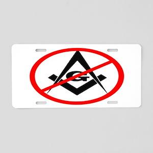 Anti Masons - Aluminum License Plate
