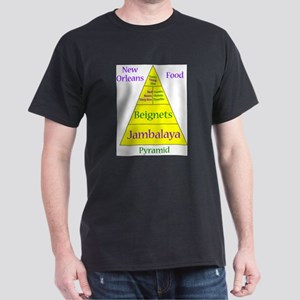 New Orleans Food Pyramid T-Shirt