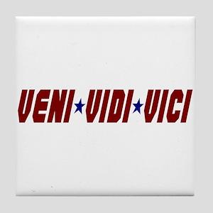 Veni Vidi Vici Tile Coaster