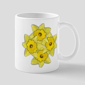 Yellow daffodil Mug