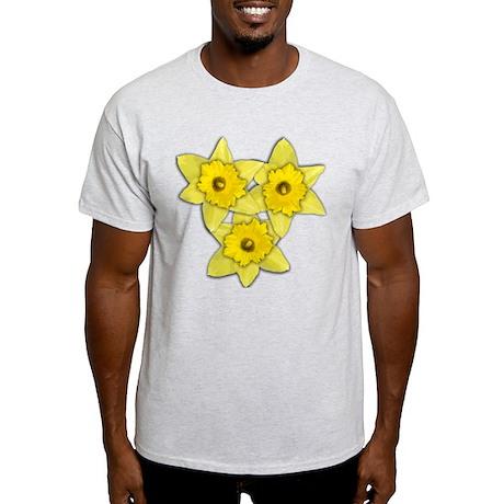 Yellow daffodil Light T-Shirt