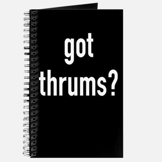 got thrums? Journal