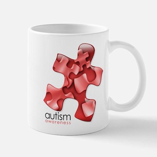PuzzlesPuzzle (Red) Mug