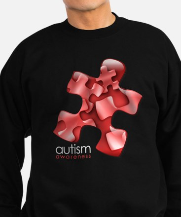 PuzzlesPuzzle (Red) Sweatshirt (dark)
