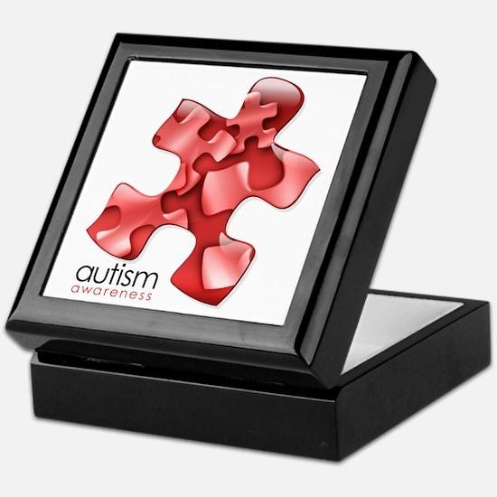 PuzzlesPuzzle (Red) Keepsake Box