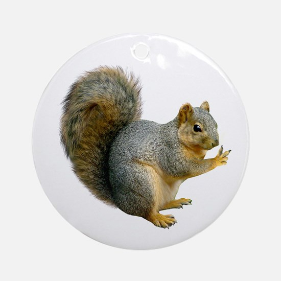Peace Squirrel Ornament (Round)